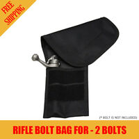 Atac Pro Rifle Bolt Bag For 2 Bolt Capacity Bolt Storage Protection AtacPro Hunt