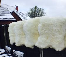 CREAMY WHITE Sheepskin Rug 140-150 XXXL BIG SIZE EXTRA LARGE 100% NATURAL