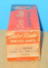 * NOS GM Delco 7267632 Radio Control-Vol Tone & Switch 1956 Packard 7267427
