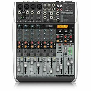 QX1204USB Premium 12 Input 2/2 Bus Mixer with XENYX Mic, Preamps and