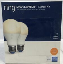 Ring A19 Smart LED Bulb in White [N]