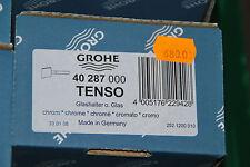 Grohe 40287 40287000 tenso vidrio soporte zahnputzbecherhalter sin vidrio nuevo