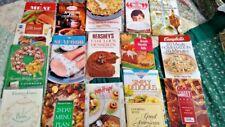 Vintage 17 Recipe Booklets Books 1960-1990 hershey crisco campbells hormel MORE