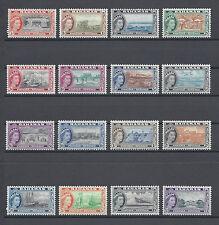 Bahamas 1954 SG 201/16 Gomma integra, non linguellato CAT £ 100