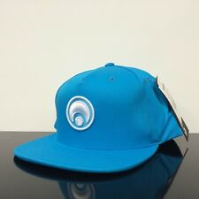 OSIRIS SHOES STANDARD SNAP BACK TURQUOISE BLUE WHITE CAP HAT (ONE SIZE)