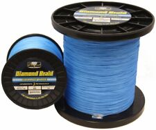 Momoi Diamond Braid Generation III Line Hollow Core - Blue - 200lb - 600 yards