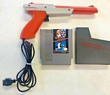 Super Mario Bros Duck Hunt Zapper Gun Nintendo Nes Video Game Cartridge Tested
