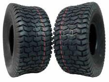 MASSFX 15 x 6-6 4 Ply Turf Lawn & Garden Mower Tire - Black, Pack of 2