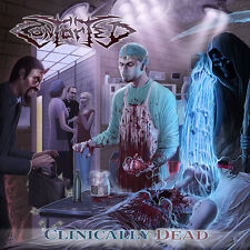 Contorted-clinically Dead CD-Death Metal