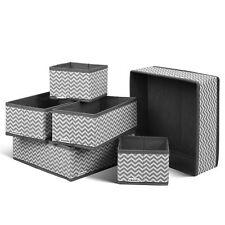 6er Set Aufbewahrungsboxen Schublade Organizer Faltbox Stoffbox Regalbox