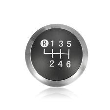 6 Speed Black Shift Gear Knob Cap Trim Emblem For Toyota Corolla Avensis Yaris