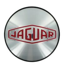 NEW GENUINE JAGUAR ALLOY ROAD WHEEL CENTRE CAP VINTAGE LOGO