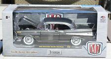 Die-cast 1957 Chevrolet Bel Air Hardtop 1:24 M2 Machines Titanium S25 17-15