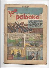 BIG SHOT #38  JOE PALOOKA  COVER-LESS COPY!
