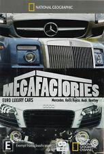 National Geographic - Megafactories - Euro Luxury Cars (DVD, 1920)