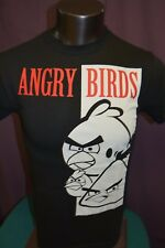 Mens Licensed Angry Birds Shirt New S