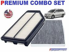 COMBO Engine Air Filter + CHARCOAL Cabin Air Filter for 2011-2017 HONDA ODYSSEY
