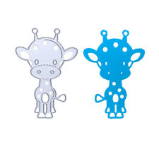 Metal Cow Cutting Dies Stencil DIY Scrapbooking Album Paper Diary Card Crafts