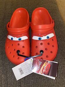 Crocs Classic Clog Lightning McQueen Size 10M / 12W *SHIPS FAST* FREE SHIP