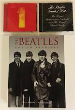 LOT 3~2 CDS~THE BEATLES 1~BEATLES GREATEST HITS~THE BEATLES UNSEEN ARCHIVES/BOOK