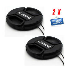 2X 52mm Center Pinch Front Lens Cap for Canon M5 M100 EF 50mm f/1.8 II Lens