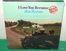 JIM REEVES - WE LOVE YOU BECAUSE - SEALED VINYL LP