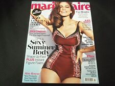 2012 JULY MARIE CLAIRE UK EDITION MAGAZINE - EVA MENDES COVER - O 5982