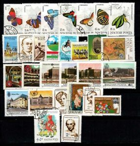 Hungary 1984-85 Used 100% butterflies.personality, constructions, culture