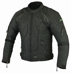 Mens Motorbike Motorcycle CJ2 RIDEX Jacket Windproof/ Waterproof With CE Armours