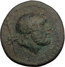 TERMESSOS MINOR in LYCIA 1CenBC Zeus Scepter Thunderbolt RARE Greek Coin i56074