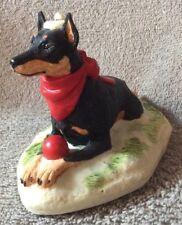 Earl Sherwan - Doberman Pincher - Black - Christmas Dog Box