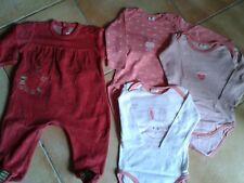 Lot pyjama bodys 12 mois