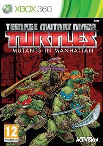 Teenage Mutant Ninja Turtles Mutants in Manhattan Xbox 360 New Sealed