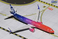 "GEMINI JETS ALASKA AIRLINES B737-900ER(S) ""MORE TO LOVE"" 1:400 NA493AS GJASA1641"