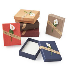 24pcs Jewelry Gift Boxes Packing for Necklace Pendant Ring Bracelet 8x5x3cm