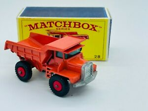 Matchbox #28 Mack Tipper Truck