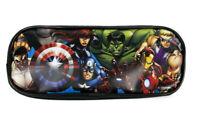 Marvel Avengers Black Pencil Pouch Zippered Pencil Case Authentic Bag
