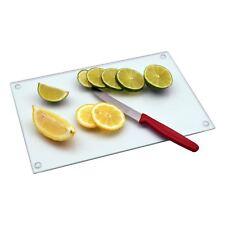 Glass Kitchen Chopping Cutting Utensil Board Worktop Saver - Clear - 300mmx200mm