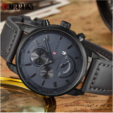 Relogio Masculino Curren Quartz Watch Men 2017 Top Brand Luxury Leather