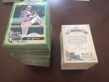 Gypsy Queen Major Leagues Original Baseball Cards