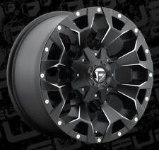 Fuel Assault D546 18x9 5x5.5/5x150 ET20 Black Rims (Set)