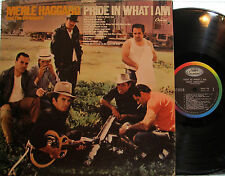 Merle Haggard - Pride in What I Am  (Capitol SKAO 168) (uni-pack gatefold cover)