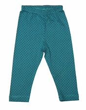 Oshkosh Printed Fitted Leggings for Baby Girl Blue/Green Polkadot Size 6 months
