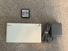 Nintendo DS Lite w/ Mario Kart DS Bundle Polar White Working VERY GOOD CONDITION