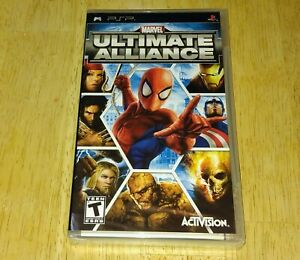 Marvel: Ultimate Alliance (Sony PlayStation PSP, 2006) Brand NEW Factory Sealed!