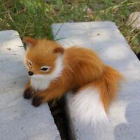Simulation Fuchs Ornament Kuscheltier Kid Spielzeug DIY Christbaum Party Dekor