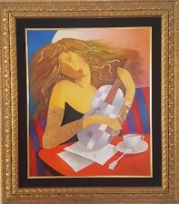"""Arbe - """"Passion"""" Original Oil on Canvas. Hand Signed with Certificate of Auth"""