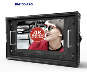 "LILLIPUT15.6"" BM150-12G-SDI 4 X 4K HDMI Broadcast Director Monitor+ Gold mo"