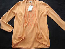 SOCCX Strick JACKE lachs Gr. L XL 40 42 NEU CAPE TOWN Strickjacke peach