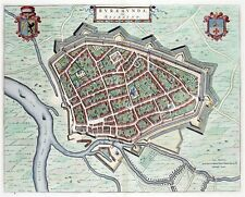 Reproduction plan ancien de Ruremonde (Roermond) 1649